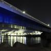 大橋と工場夜景
