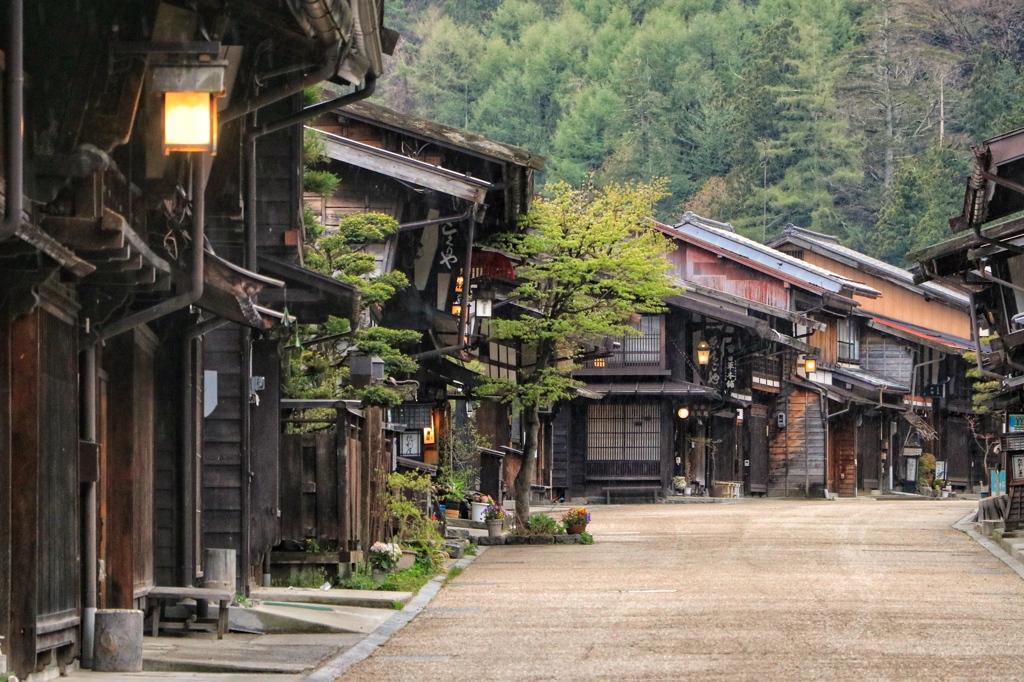奈良井宿昼景