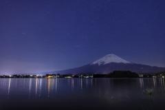 富士五湖夜景  (河口湖)