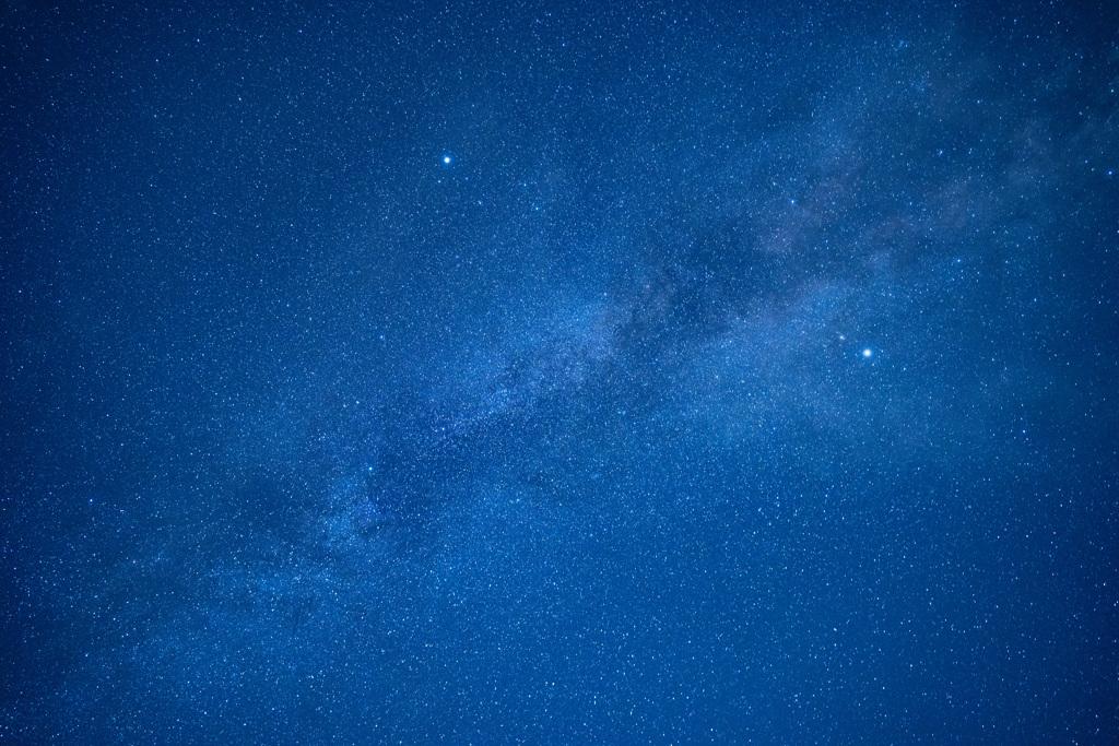 久住高原の星空