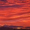 富士山ー茜色の饗宴
