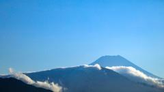 雲海の夏富士