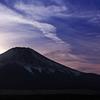 ダイアモンド富士と幻日に出会う(山中湖)