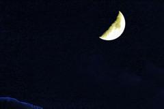 上弦の半月