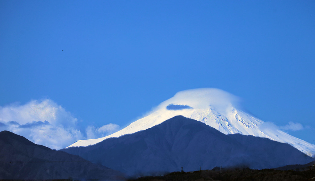 3/16の富士山