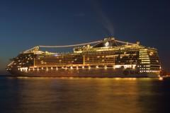 豪華クルーズ船 『MSC splendida』