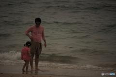 休日の海岸にて…(2)
