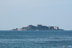 軍艦島(拡大してご覧ください)