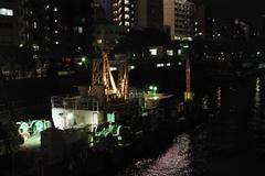 吾妻橋から、隅田川