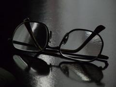 親父の老眼鏡。