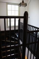 岡田信一郎 旧鳩山一郎邸(現鳩山会館) 階段