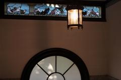 岡田信一郎 旧鳩山一郎邸(現鳩山会館) 玄関ホール