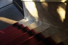 岡田信一郎 旧鳩山一郎邸(現鳩山会館) 玄関階段