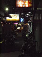 台湾の路地裏