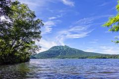 夏の尾瀬沼と燧ケ岳