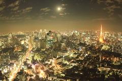 満月の東京