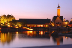 夕方の教会1