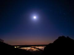 月夜のオリオン