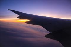 シベリアを飛ぶ