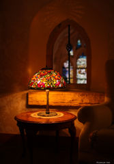 ランプのある部屋
