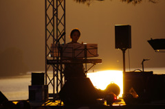 湖畔のコンサート♪