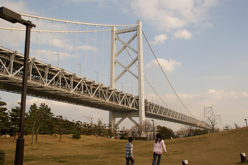 大橋と・・・  \(^o^)/