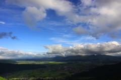 雲と同じ高さに