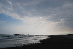 赤羽根の砂浜