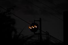 宵の中継信号機