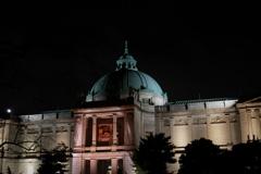夜の表敬館