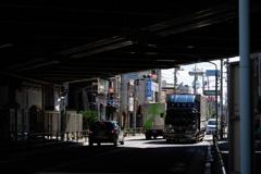 朝の五日市街道