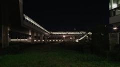 夜の空中回廊