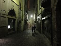 チッタ・アルタの街角