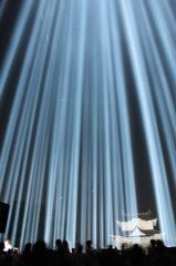 光の柱 2