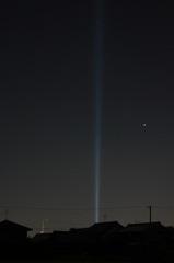 光の柱 5
