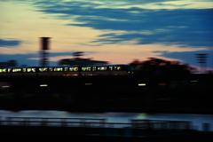 電車流し撮り