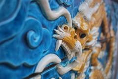 横浜中華街のドラゴン