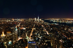 Manhattan Night view