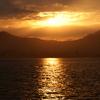 宮島より望む夕景