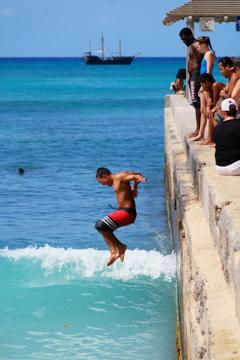 jump into the sea