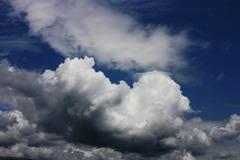 雲の上のような