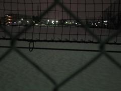 網越しグラウンド