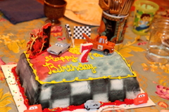 Birthday cake:7歳