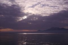 有明海の朝
