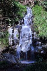 初景滝の横の無名滝