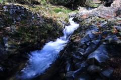 カニ滝の下流