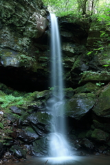 神谷の滝 上段全景