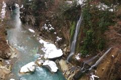 手取川渓谷 不老峡の無名滝