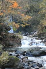打波川渓流