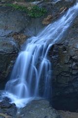 綿ヶ滝 対岸の無名滝1 下部
